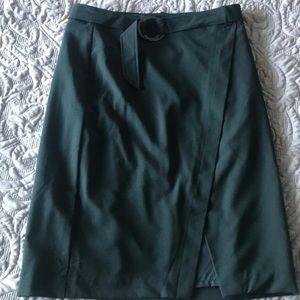 New Emerald Green Pencil Skirt Size 10